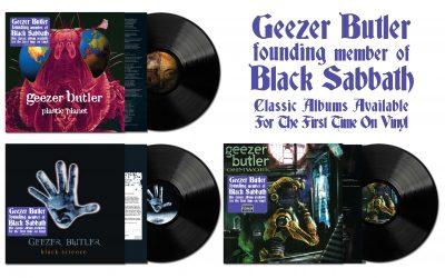 Geezer Butler Albums Re-Released